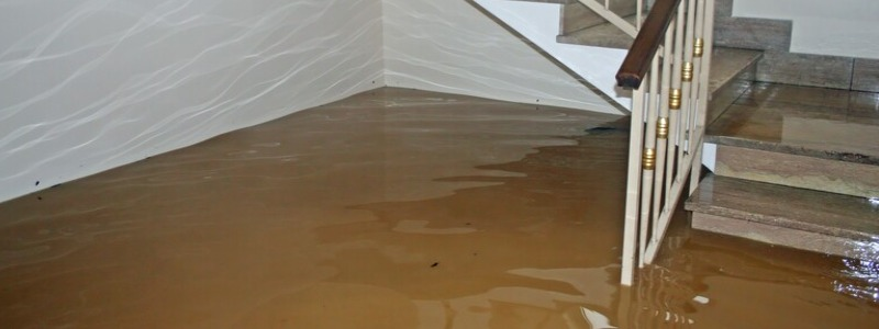 House flood water damage